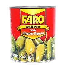 Jalapenos Whole A10 Tin Faro