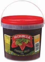 Strawberry Jam 2.5kg Tub Kraft / Monbulk