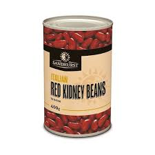 Red Kidney Beans 400g tin Sandhurst