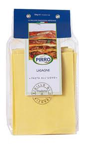 Lasagne Sheets Egg 500g Packet s - Pirro