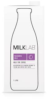 Macadamia Milk (8 x 1ltr) MilkLab *Carton Only* (Pre Order 2 Days)