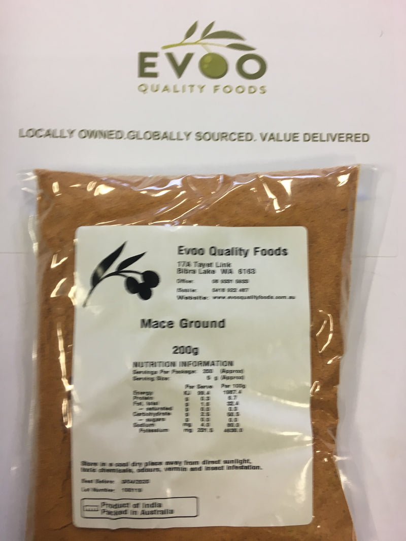 Mace Ground 200g Packet (Pre Order 2 days)