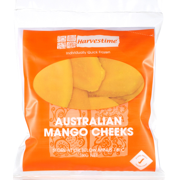 Mango Cheeks Frozen 1kg Bag Harvestime