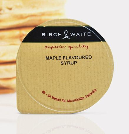 Maple Syrup Portion Control 210 x 25ml Box Birch & Waite