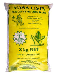 Mexican White Masa Flour 2kg Bag