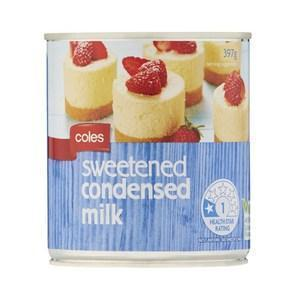 Condensed Milk 397g Tin Coles