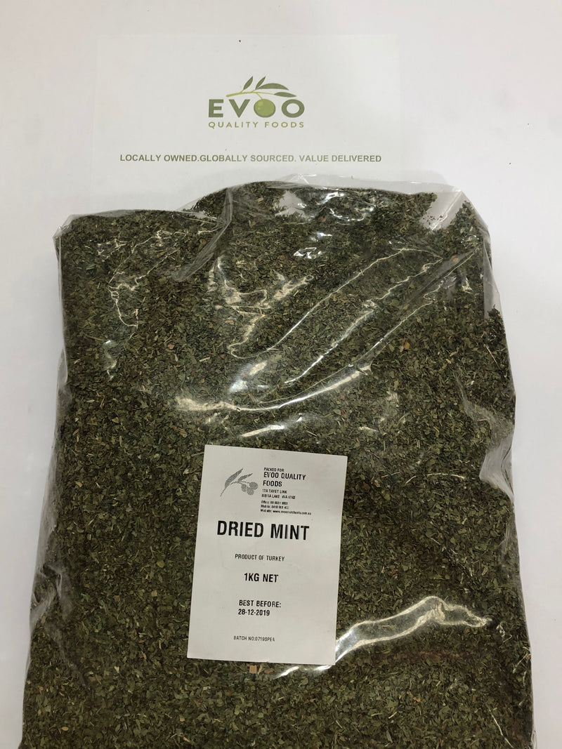 Mint Dried Flakes 1kg (Pre Order)