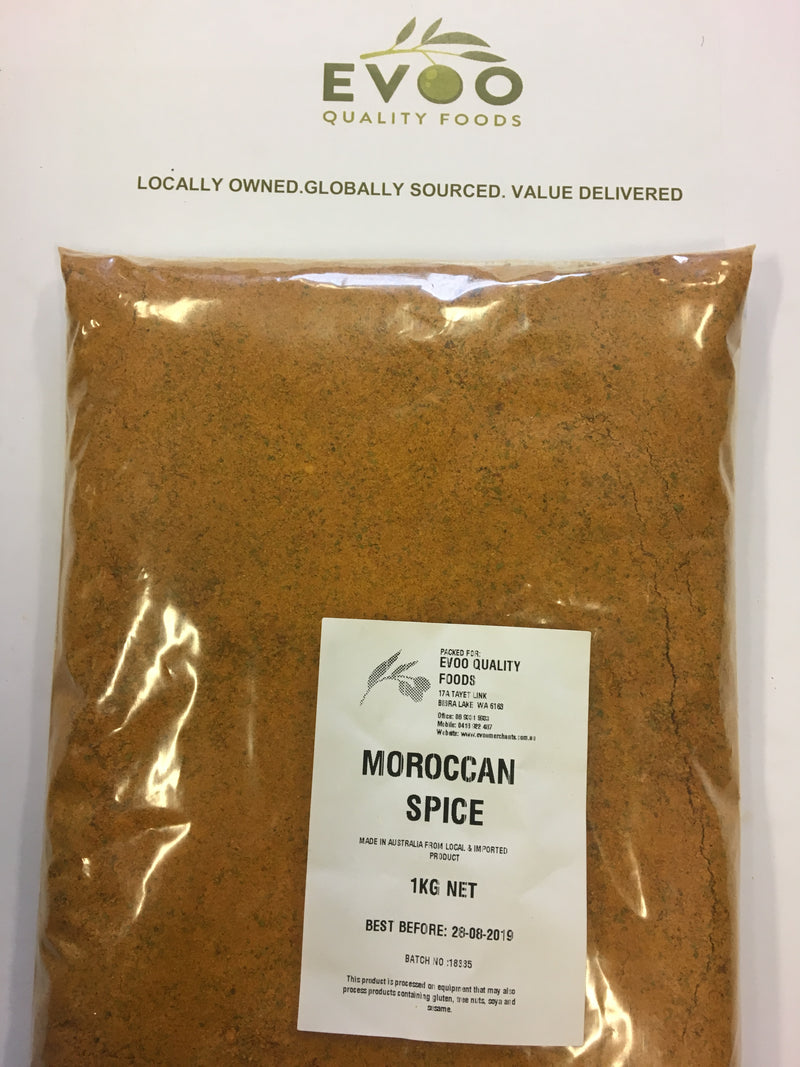 Moroccan Seasoning 1kg Bag EVOO