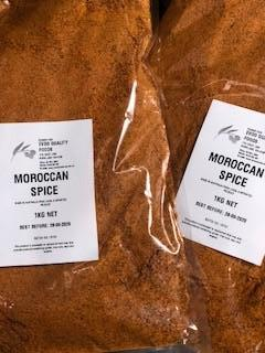 Moroccan Spice (Not Seasoning)  1kg Bag EVOO QF (Pre Order)