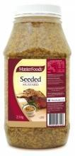 Mustard Seeded 2.5kg Tub Masterfoods