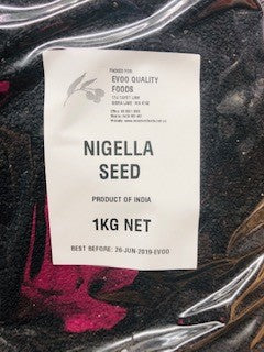 Black Nigella Seeds (Cumin) 1kg Bag