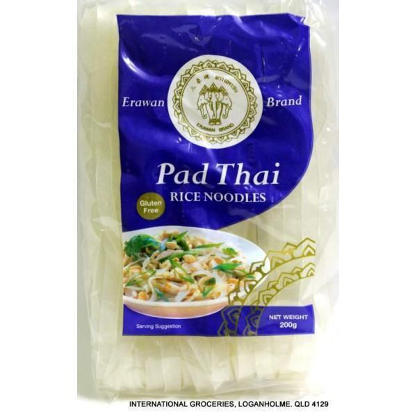 Pad Thai Rice Stick Noodles 200g Packet