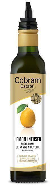 Lemon Flavoured Olive Oil 250ml Bottle Cobram (Pre Order 3 days)