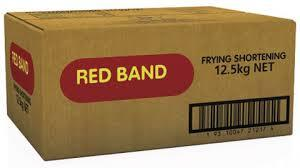 Red Band Frying Oil 12.5kg Box