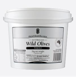 Wild Whole Olives 10kg Tub  Penfields