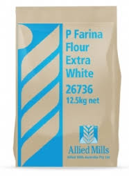 P Farina Flour Extra White 12.5kg Bag (26736) Allied Mills