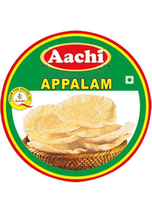Aachi Appalam Papadams 200g (Plain)