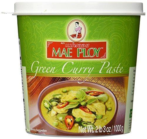 Green Curry Paste 1kg Tub  Maeploy