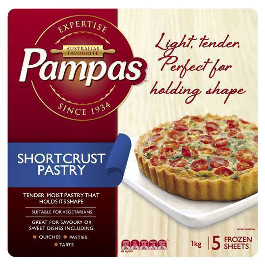 Pastry Shortcrust 1kg Packet (Pre Order 2 Days)
