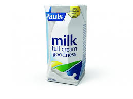Milk Pauls UHT Full Cream 200ml x 24 sold as carton - Pre order 2 days
