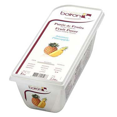 Pineapple Puree 1kg Frozen (Pre Order) Boiron
