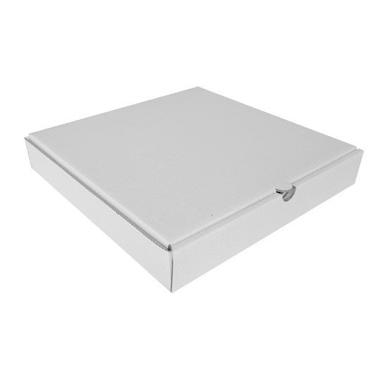 "Pizza Box 13"" (330mm) White 50's Pack (PIZ13W-50)"