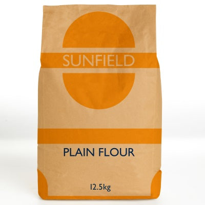 Plain Flour 12.5kg Bag Sunfield