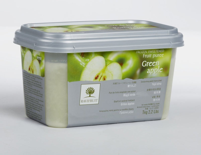 Apple Puree 1kg Tub Frozen - Ravi
