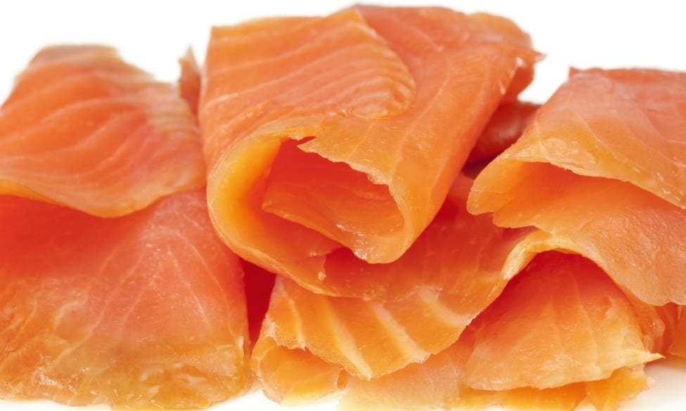 Norwegian Smoked Salmon Buffet Style Pre Sliced 1kg Global