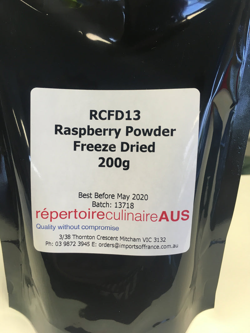 Raspberry Powder (RCFD13) 200g Freeze Dried