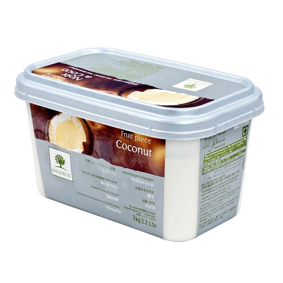 Coconut Puree 1kg Tub Frozen - Ravi