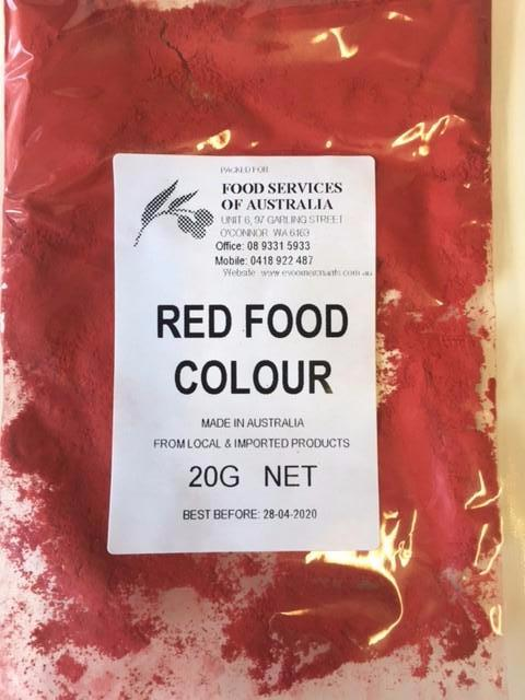 Red Food Colouring 20g