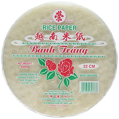 Rice Paper Sheets 16cm Rose (Small) (pre order)