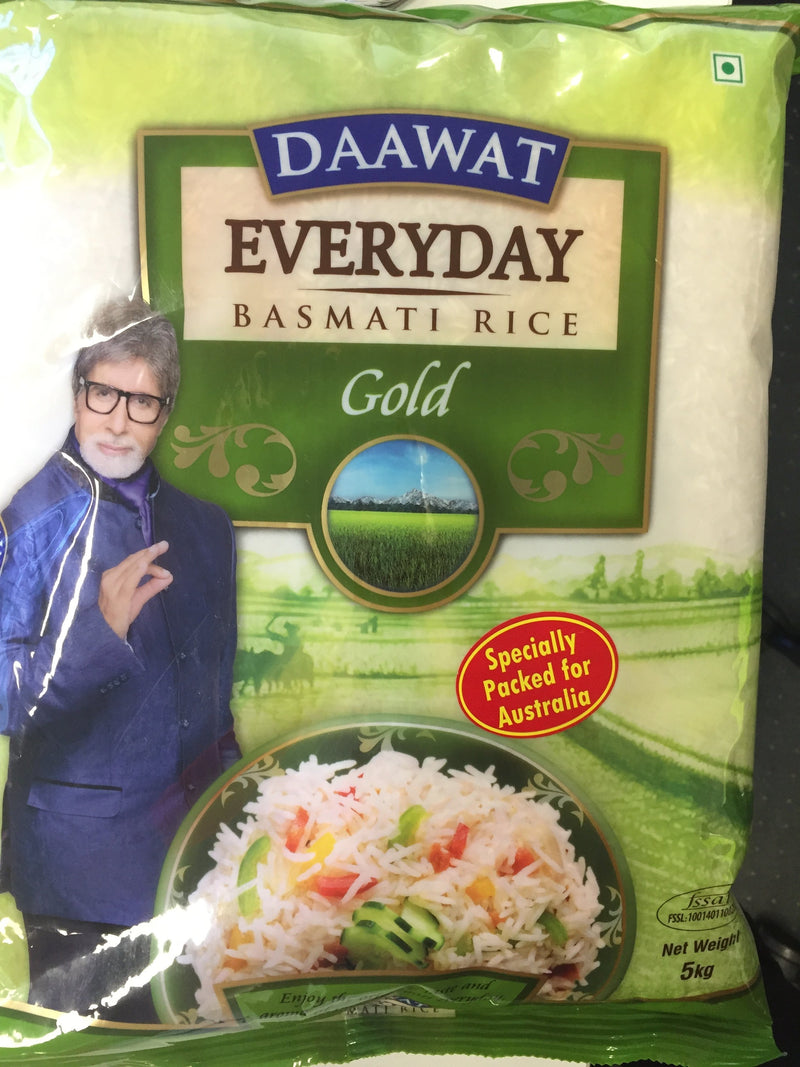Basmati Rice 5kg Bag Daawat
