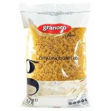 Ditalini Rigati Pasta Dried 500g Bag #60