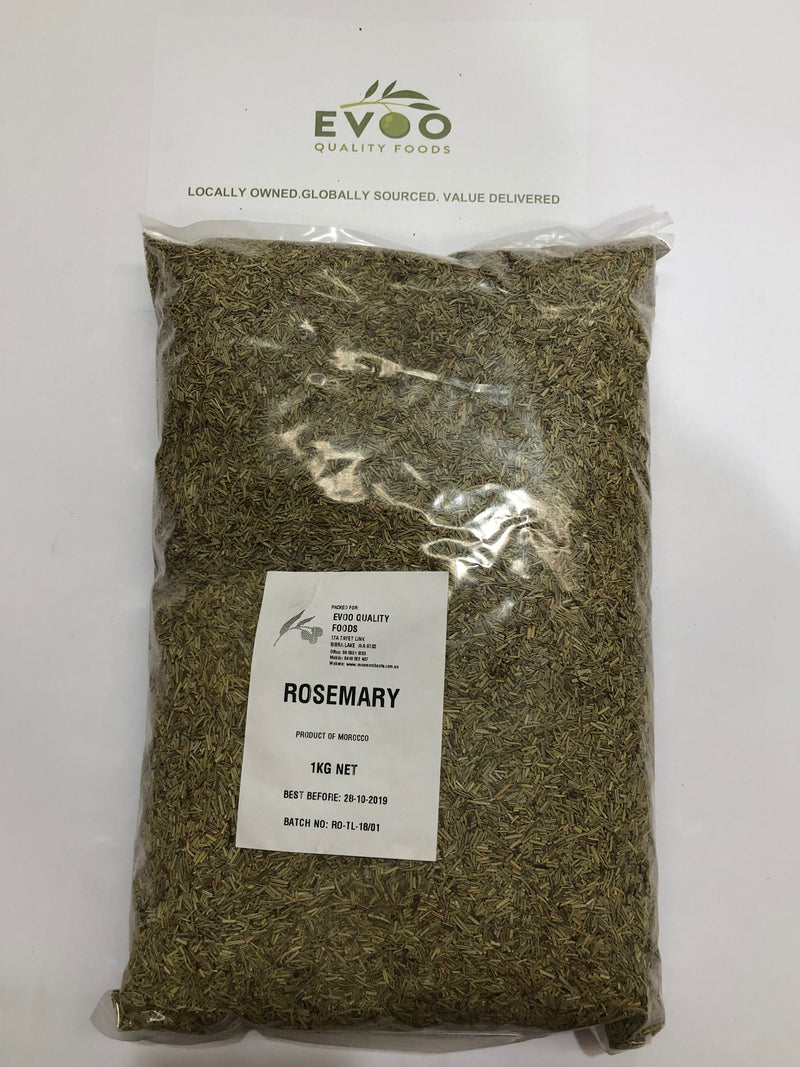 Rosemary Rubbed Dried 1kg Bag  EVOO QF