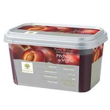 Ravifruit Ruby Peach Puree 1kg (Pre Order 4 Days)