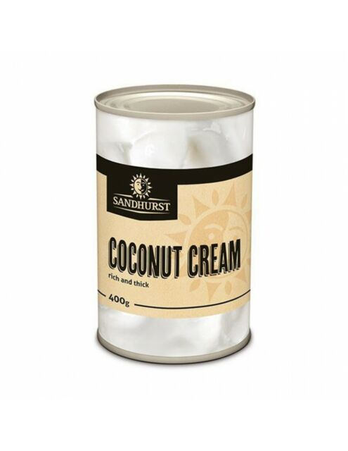 Sandhurst / Garden Supreme Coconut Cream 400ml Tins