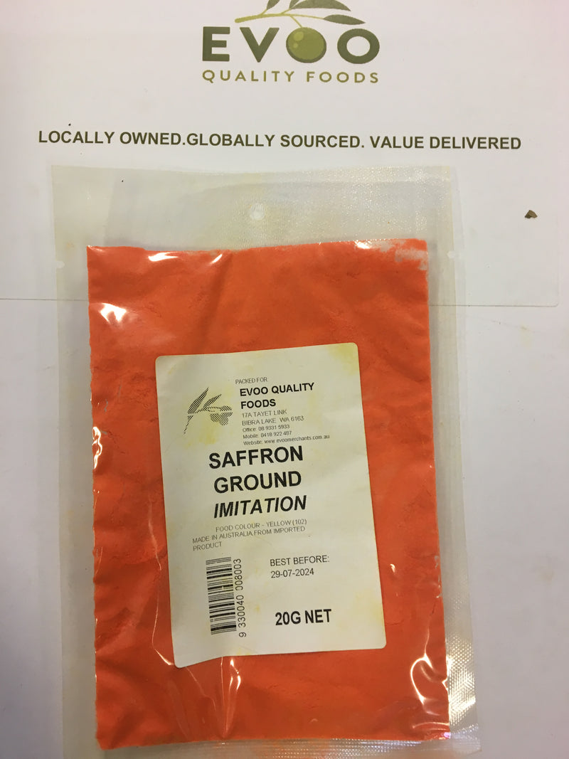 Saffron Ground Imitation 20g Bag (PREORDER) EVOO QF