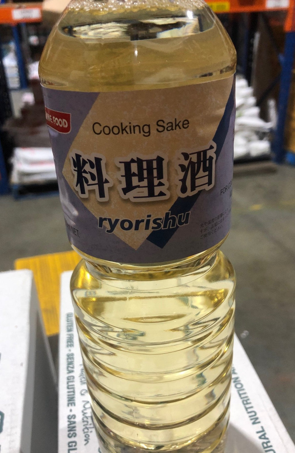 Cooking Sake Gluten Free (Japanese Cooking Seasoning) 880ml Bottle Hinode Ryorishu