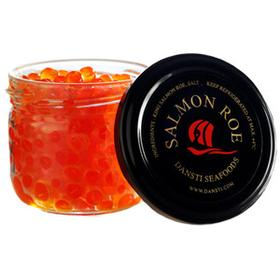 Salmon Caviar 50g Jar (Red) Dansti