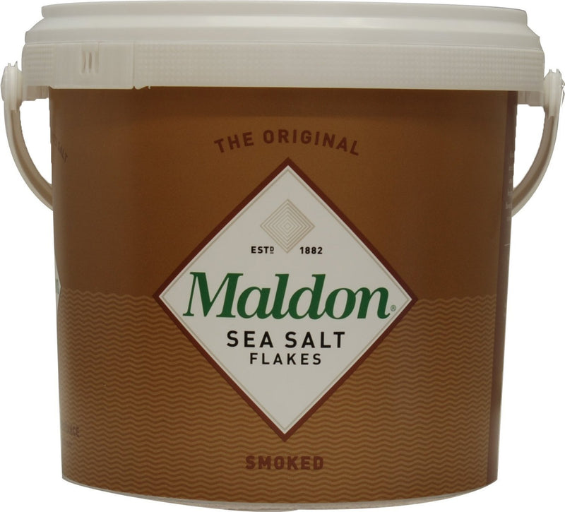 Maldon Smoked Salt Flakes 1.5kg Tub