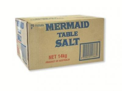 Table Salt 14kg Box Mermaid