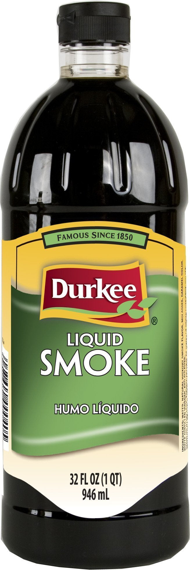 Liquid Smoke Hickory 946ml Bottle Durkee