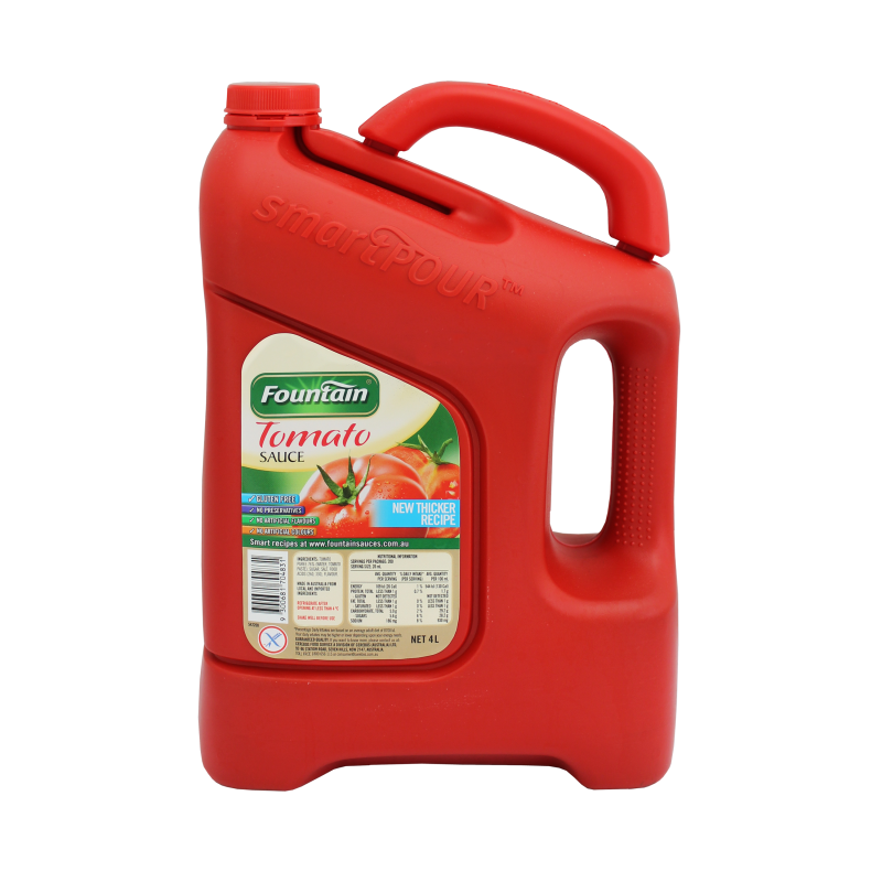 Tomato Sauce 4lt Fountain