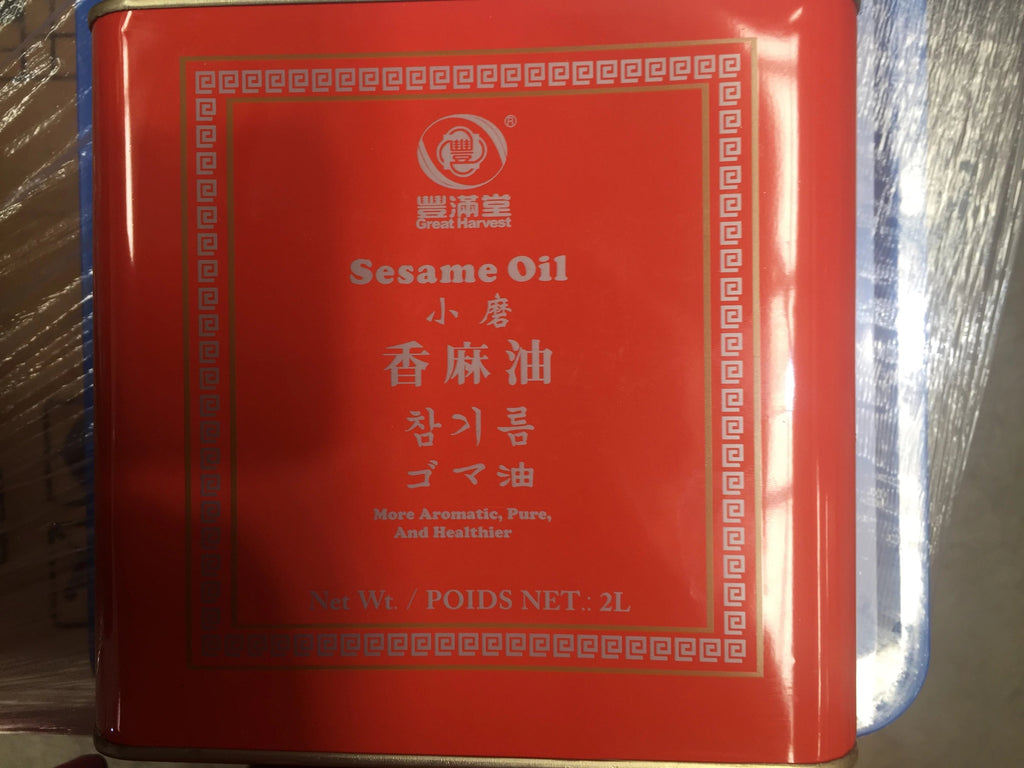 Sesame Oil 2lt Great Harvest