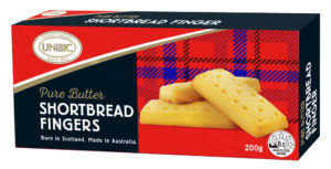 Shortbread Finger Biscuits 200g Pure Butter (Unibic) Packet