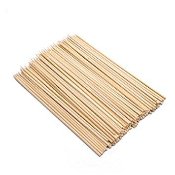 "Bamboo Skewers 8"" x 100 Packet"
