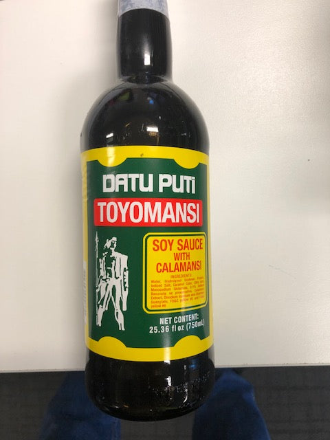 Soy Sauce with Calamanis Datu Puti Toyomansi 750ml