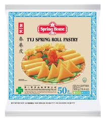 "Spring Roll Skins 7.5"" x 50pc TY J Packet s"